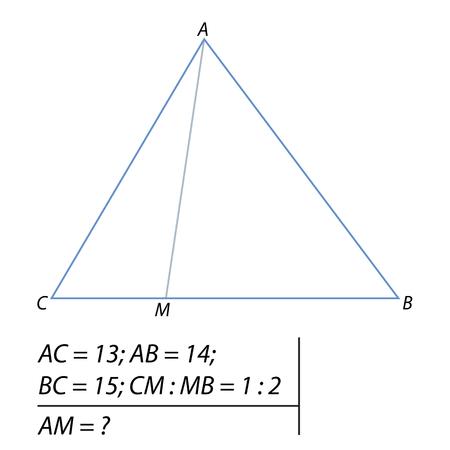 tâche pour calculer le télégraphe d & # 39 ; un triangle