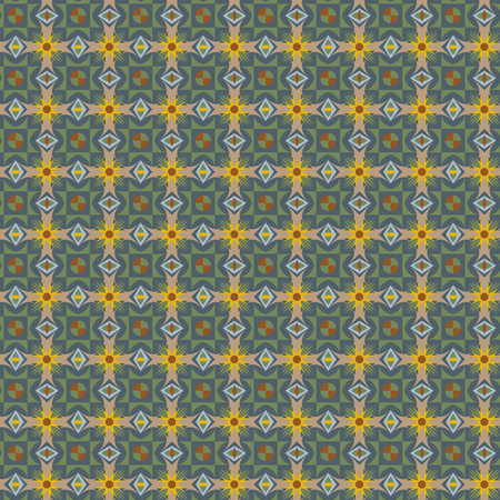A Seamless old floral pattern illustration. Illustration