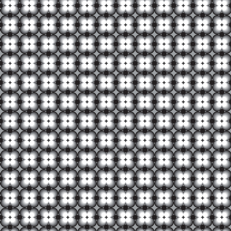 Retro pattern with grey black and white