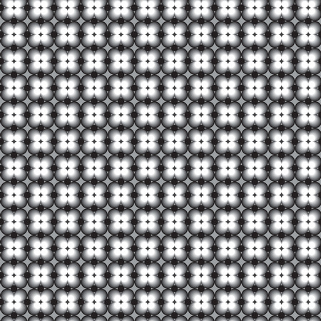 Simple and naughty retro pattern with grey black and white