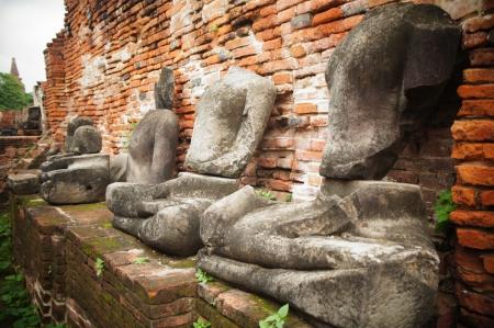 ayuthaya: Buddha in Ayuthaya, Thailand