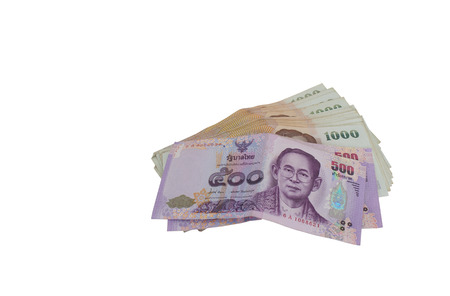 Thailand put the notes on a white background. Thailand is the most common.