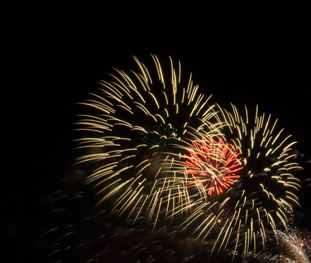 Fireworks, great fireworks, beautiful festivals. Imagens