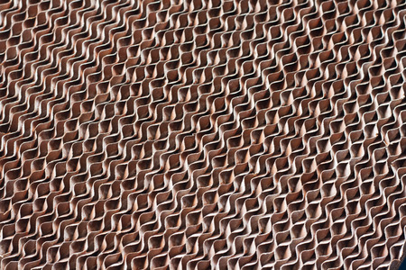 Abstract backgrounds Cardboard pattern. Paper industry. Imagens