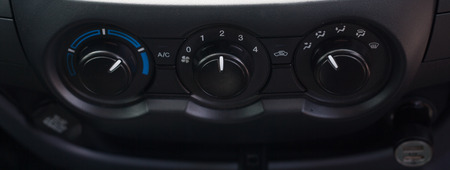 Symbols, Controls air conditioning systems in cars. Imagens - 105940862
