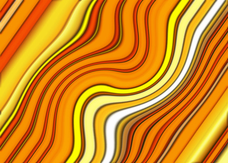 bias: Creative background. A wonderful harmony, of colors, of golden, orange, yellow, wavy diagonal stripes.