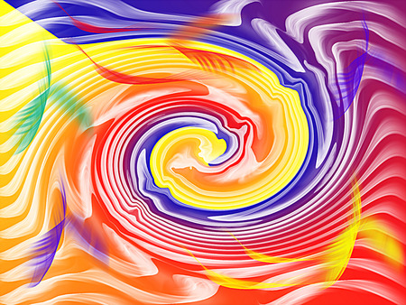 bias: Creative background. A wonderful harmony tsvetov.abstraktnaya spiral. Stock Photo