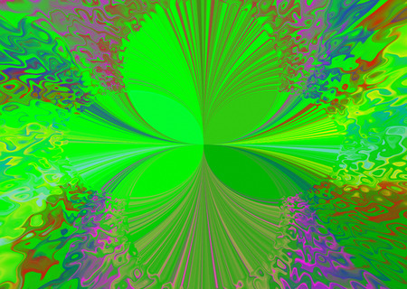 magnificence: Background  abstract  panorama. The magnificence of texture and shape. Multicolored. Geometry creative. Stock Photo