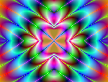 grandeur: Fractal perfection, colorful, brilliant and charming prospect, creative background, high art.