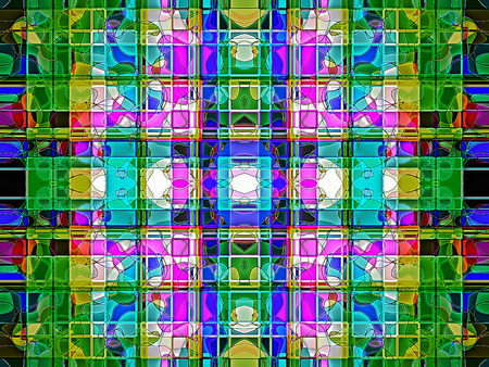 Geometric   abstract  multicolored ornament background  .   Light multicolored.     A wonderful harmony of colors.