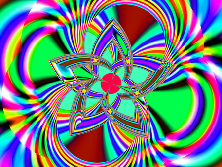 masterpiece: Fractal perfection, colorful, brilliant and charming prospect, creative background, high art.