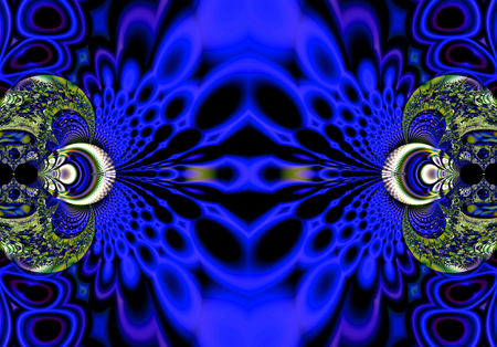 perfection: Fractal perfection, colorful, brilliant and charming prospect, creative background, high art.