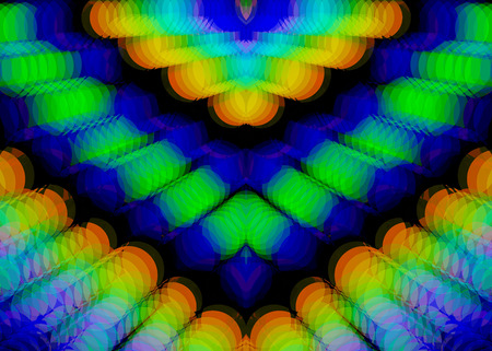 prospect: Fractal perfection, colorful, brilliant and charming prospect, creative defocused background, high art.
