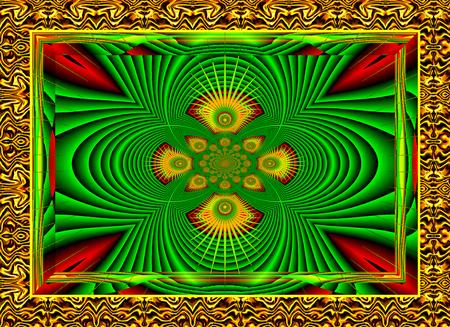 multi colors: Creative decorative background, gorgeous composition in multi colors.