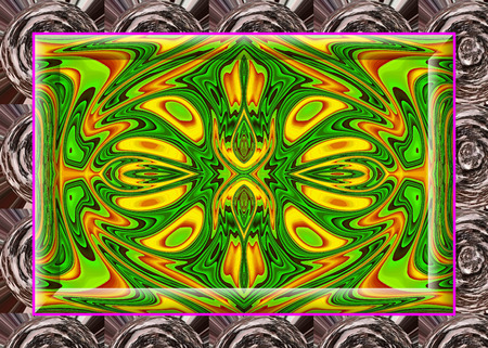 sublime: Ornamental, Multi-colored background, brilliant and charming prospect, creative background, high art. Stock Photo
