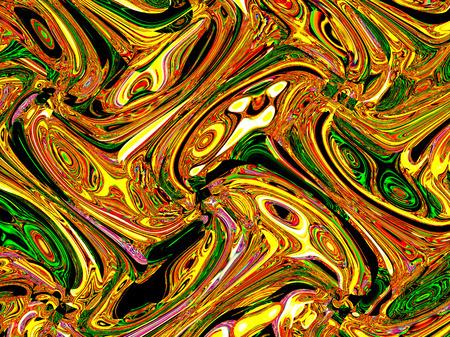 splendor: Geometric light abstract ornament. Light multicolored. A wonderful harmony of colors.