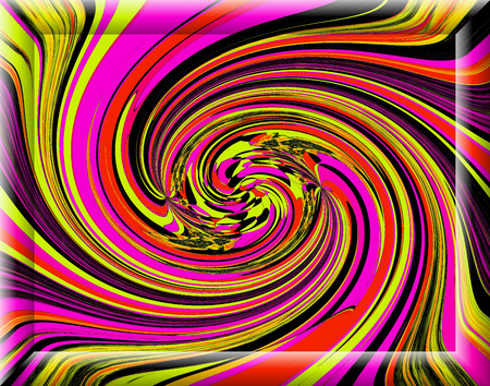 perfection: Perfection swirl in multicolored colorful, bright and charming creative background.