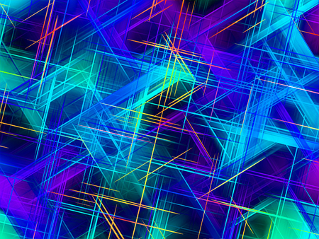 sublime: Fractal perfection, colorful, brilliant and charming prospect, creative background, high art.
