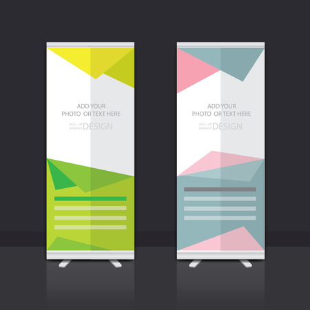 banner stand: Roll Up Banner Stand