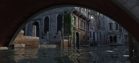 venice canals and architecture