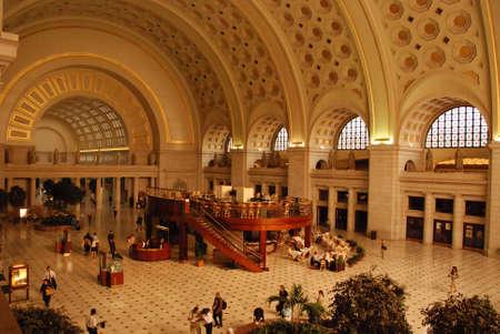 dc: Union Station a Washington DC  Archivio Fotografico
