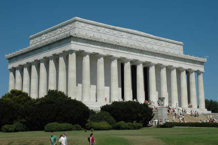 Lincoln Memorial on a summer afternoon