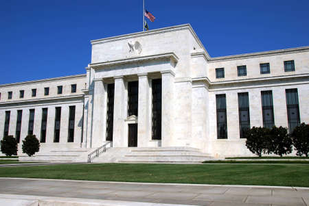 The US Federal Reserve in Washington DC on a beautiful summer day Stock Photo - 1703035