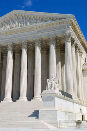 constitutional law: The Supreme Court building is the seat of the Supreme Court of the United States. It is situated in Washington D.C. at One First Street Northeast, on the block immediately east of the United States Capitol.