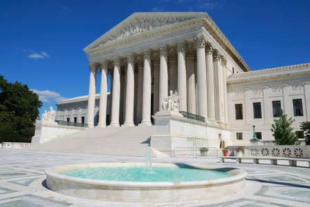 judicial: The Supreme Court building is the seat of the Supreme Court of the United States. It is situated in Washington D.C. at One First Street Northeast, on the block immediately east of the United States Capitol.