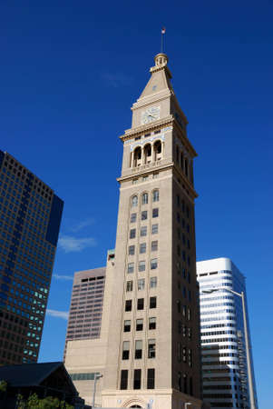 daniels: Daniels and Fisher Clock Tower Downtown Denver