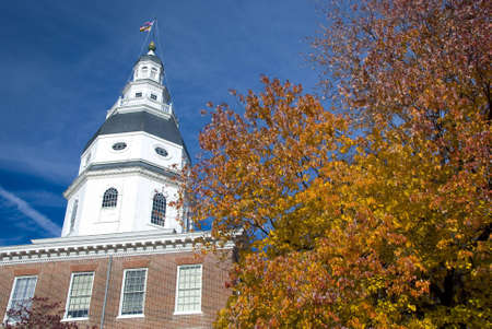 state government: The Maryland State House is the state capitol of Maryland, and is located in Annapolis. It houses the Maryland General Assembly and is the oldest state capitol in continuous legislative use, dating to 1772.