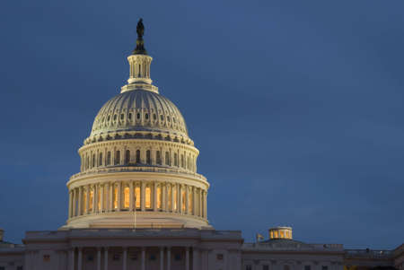 The United States Capitol is the capitol building that serves as the seat of government for the United States Congress, the legislative branch of the U.S. federal government.
