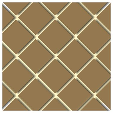 volumetric: Seamless background texture of volumetric squares, vector illustration