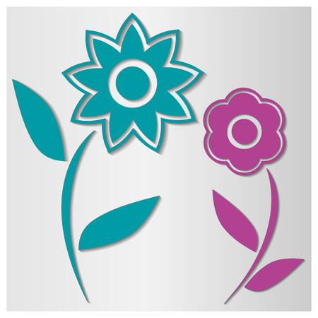 background image: Imagen de fondo de varias flores de colores