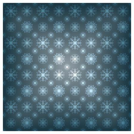 background image: Imagen borrosa de fondo sin fisuras de los copos de nieve, ilustraci�n vectorial. Vectores