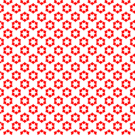 Abstract Canadian backgrounds. Seamless pattern from repeating maple leaves, vector illustration. Illustration