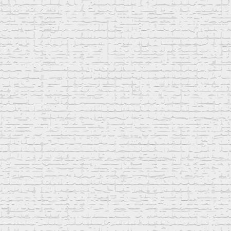 White grunge background. Concrete texture, vector illustration. Illustration