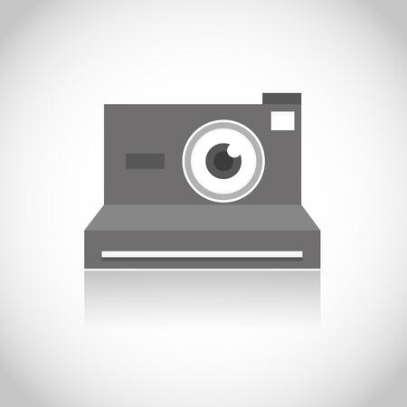 polarizing: instant photo camera lens eye
