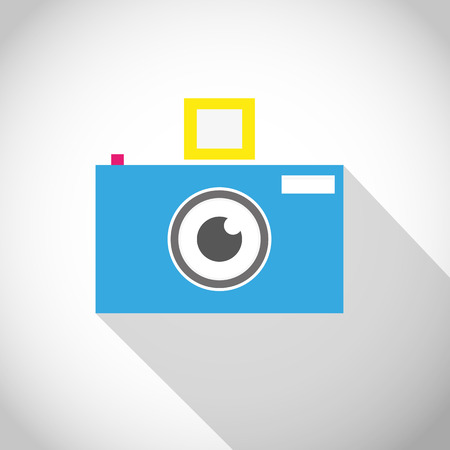Camera lens eye icon Vector