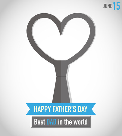 Father s Day Tie Vector