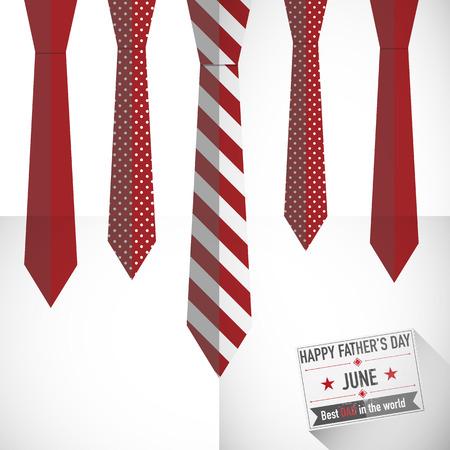 necktie background Illustration