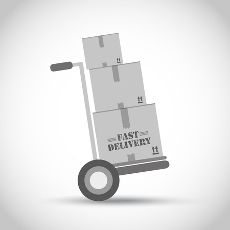 fast delivery: Fast delivery hand truck