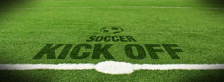 soccer kick: Soccer kick off