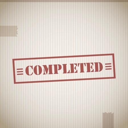 completato: Timbro completato