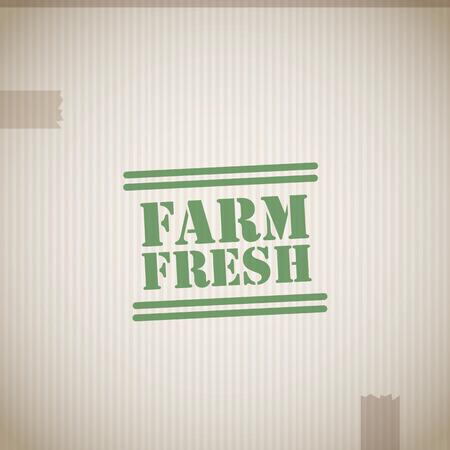 farm fresh: Farm fresh stamp