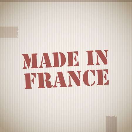 made in france: Made in France stamp