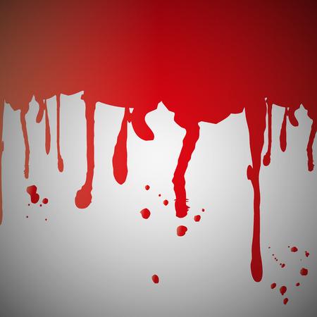 blutspritzer: Blut Splatter an der Wand Illustration