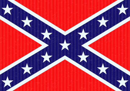 confederation: Confederation flag Illustration