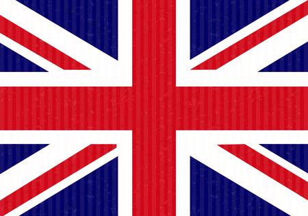 bandera de reino unido: Reino Unido Bandera Cart�n