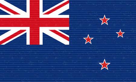 new zealand flag: Bandiera neozelandese